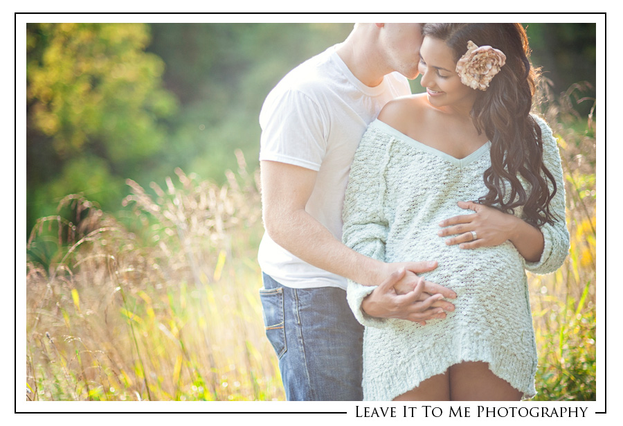 Maternity Picture Ideas With Husband Outdoors